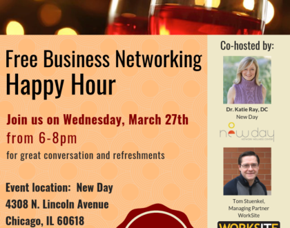 Free Business Networking Happy Hour at New Day