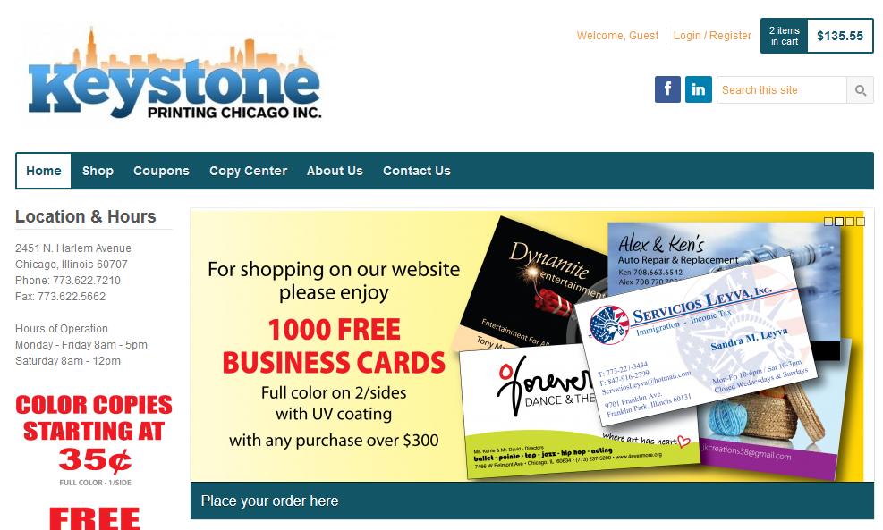 Keystone Printing Chicago