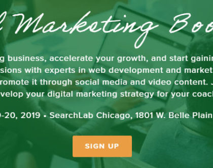 Upcoming Event: Digital Marketing Bootcamp
